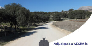 AEGRA ha sido seleccionada para la mejora del camino rural Pilas del Dedil en el término municipal de Alhama por el Ayuntamiento.