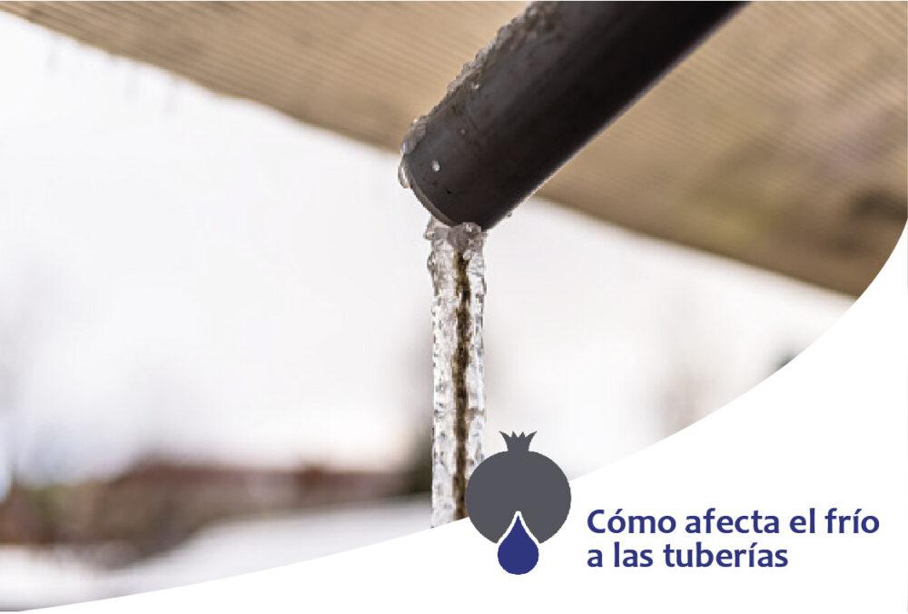 Cómo afecta el frío a las tuberías