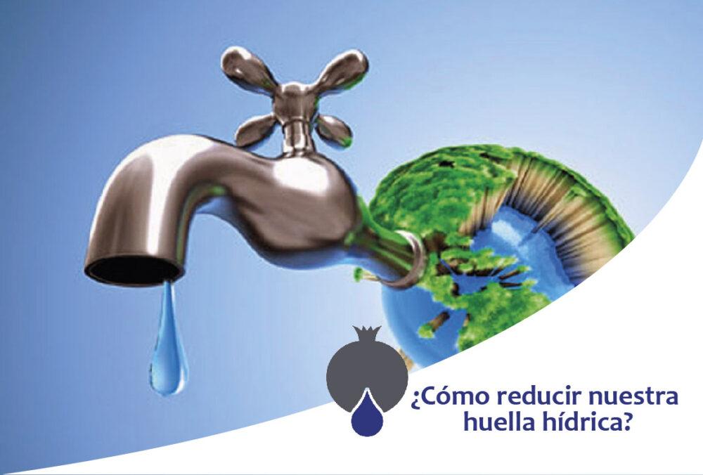 ¿Cómo reducir nuestra huella hídrica?
